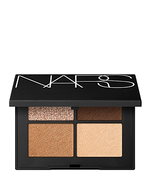 What It Is: A collection of eyeshadow quads in a new formula that come in a variety of finishes, featuring unique shades. What It Does: Intense color. Luxurious texture. Endless expression. Get four of what you want with captivating, new Quad Eyeshadows. Unique shades specially curated by Francois Nars inspire uninhibited artistry. Envelop eyes in a range of finishes, from buttery mattes and lustrous satins to multi-dimensional glitters. In an upgraded formula. High-impact colors pop in just one