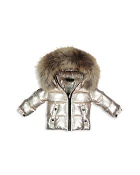 SAM. - Girls' Fur-Trimmed Snowbunny Jacket - Baby