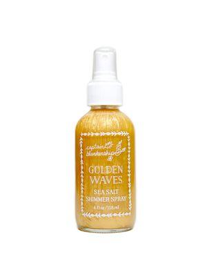 CAPTAIN BLANKENSHIP GOLDEN WAVES SEA SALT SHIMMER SPRAY 4 OZ.