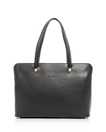 Longchamp Le Foulonne Leather Tote   Bloomingdale's