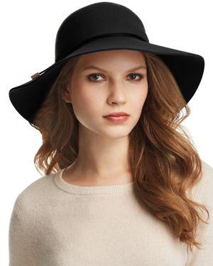 Wool Hat - Black, Knight Melange/ Black