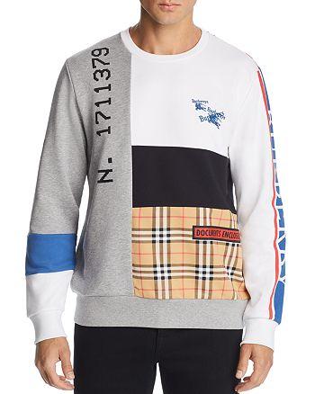 56826843e261 Burberry - Girnley Patchwork Sweatshirt