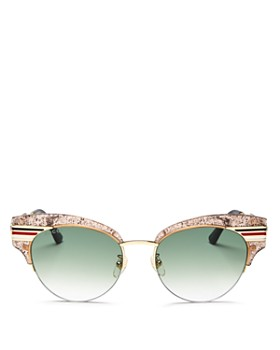 6ef01580048 Gucci - Women s Glitter Cat Eye Sunglasses