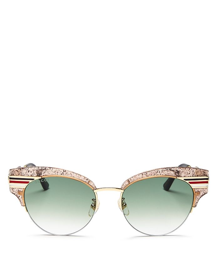77fde9aabd4 Gucci - Women s Glitter Cat Eye Sunglasses