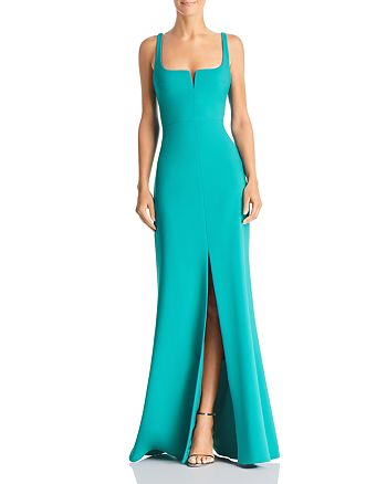 LIKELY - Constance Slit-Front Gown