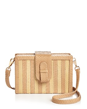 99a48614a5f ... SALE  DISCOUNT APPLIED IN BAG. Ximena Kavalekas - Mandolin Small Python  Convertible Crossbody ...