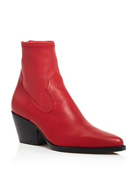 Dolce Vita - Women's Shanta Leather Western Booties - 100% Exclusive