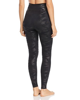SPANX® - Faux Leather Camo Leggings