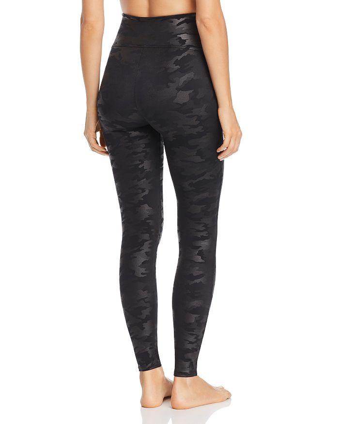 c18601445 SPANX® - Faux Leather Camo Leggings