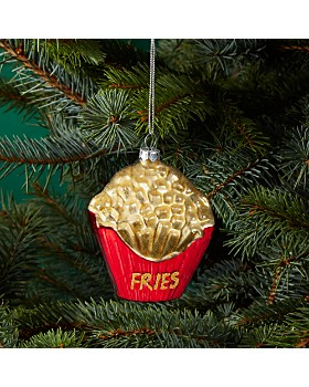 Bloomingdale's - Fries Glass Ornament - 100% Exclusive