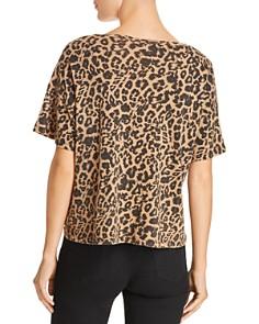LNA - Leopard Print Boxy Tee