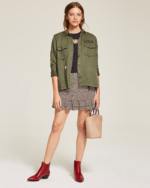 Rails - Military Jacket, Sandro Graphic Tee & More