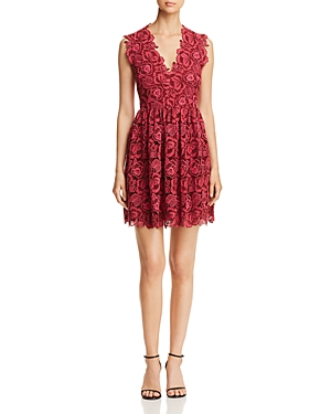 kate spade new york Floral Lace Dress