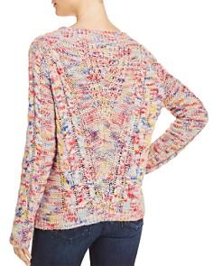 Rebecca Minkoff - Juna Marled Cable-Knit Sweater