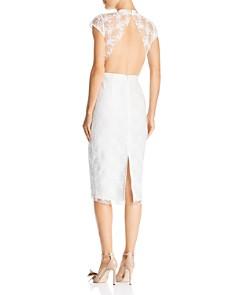 SAU LEE - Emery Embroidered Dress