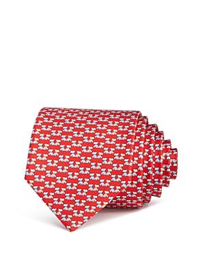Salvatore Ferragamo Fido Scottie Dogs Silk Classic Tie