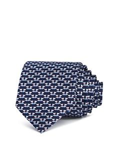 Salvatore Ferragamo Fido Scottie Dogs Silk Classic Tie - Bloomingdale's_0