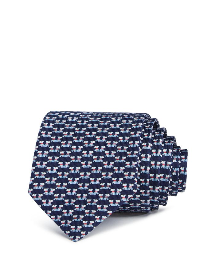 Salvatore Ferragamo - Fido Scottie Dogs Silk Classic Tie