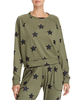 Terez - Star-Print Sweatshirt