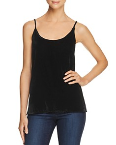 7 For All Mankind - Velour Camisole Top