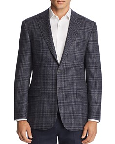 Canali - Plaid Classic Fit Wool Sport Coat
