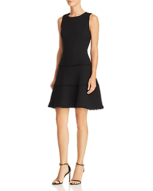 Likely Jewel Tiered Fit-and-Flare Dress