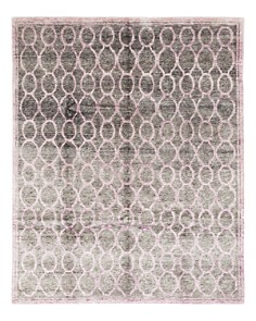 """Solo Rugs - Modern 39 Hand-Knotted Area Rug, 7' 10"""" x 9' 10"""""""