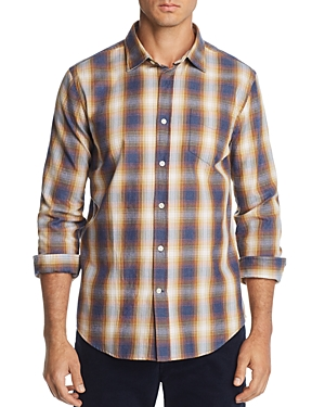 The Men's Store at Bloomingdale's Plaid Regular Fit Flannel Shirt - 100% Exclusive