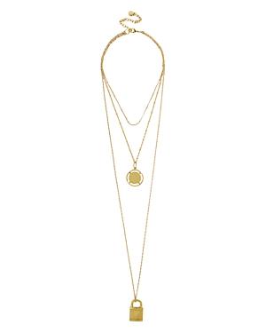 Baublebar Locket Layered Necklace, 30