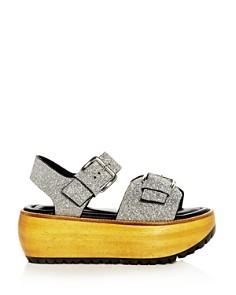 Marni - Women's Glitter Platform Sandals