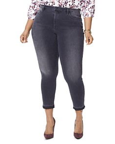 NYDJ Plus - Ami Released-Hem Ankle Jeans in Olympic
