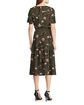 Ralph Lauren - Floral Crepe Dress