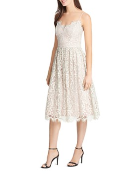 Eliza J - Gathered Lace Dress