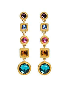 Ben Amun - Multi Color Linear Earrings