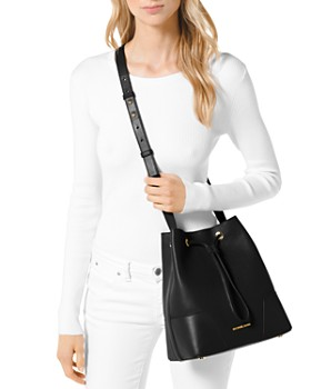 MICHAEL Michael Kors - Cary Medium Leather Bucket Bag