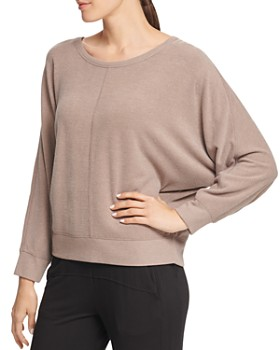 Donna Karan - Relaxed Dolman-Sleeve Sweatshirt