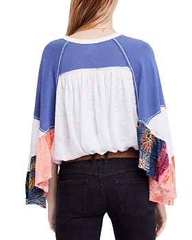 Free People - Friday Fever Patchwork Top