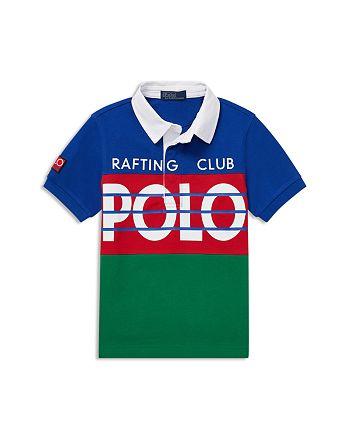e6fcdce33fd Ralph Lauren Boys' Hi Tech Rafting Club Polo - Little Kid ...