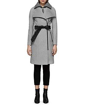 Mackage - Nori Belted Wide Lapel Coat