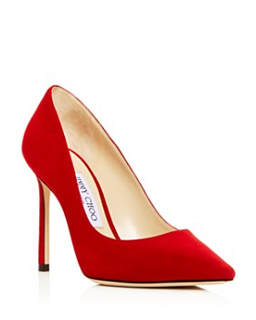 78924bd55d Jimmy Choo - Women's Romy 100 Pointed-Toe Pumps ...