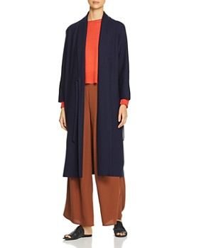Eileen Fisher Petites - Wool Duster Wrap Cardigan