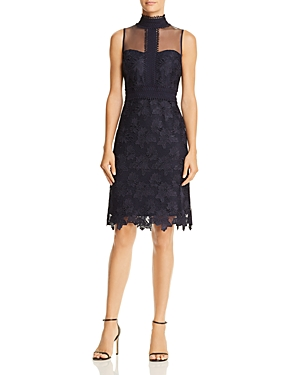 nanette Nanette Lepore Lace Sweetheart Illusion Dress