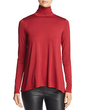 Three Dots Relaxed Turtleneck Top
