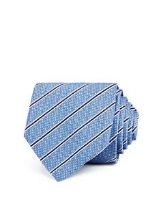 HUGO - Textured Stripe Skinny Tie