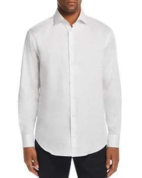 Emporio Armani - Solid Modern Fit Button-Down Shirt - 100% Exclusive