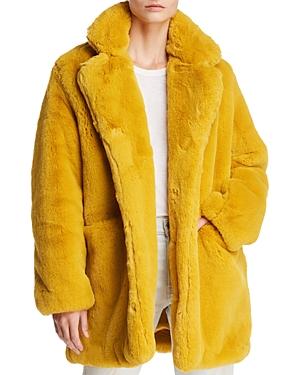 Vintage Coats & Jackets | Retro Coats and Jackets Apparis Sophie Faux Fur Coat AUD 423.87 AT vintagedancer.com