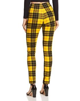 Tiger Mist - Pearl Plaid Skinny Pants