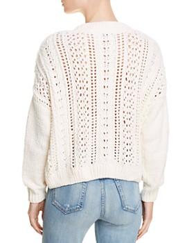 AQUA - Cable-Knit Chenille Sweater - 100% Exclusive