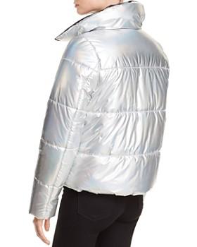 AQUA - Iridescent Puffer Jacket - 100% Exclusive