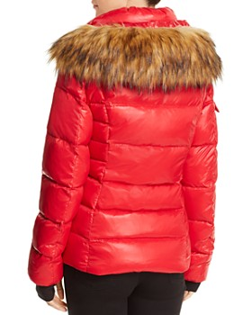 AQUA - Faux Fur-Trim Puffer Jacket - 100% Exclusive